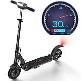 urbetter Elektro Scooter, 350W Motor Geschwindigkeit 30km/h, 30km Laufleistung Faltbarer E Scooter für Jugendliche Und Erwachsene (Schwarz)