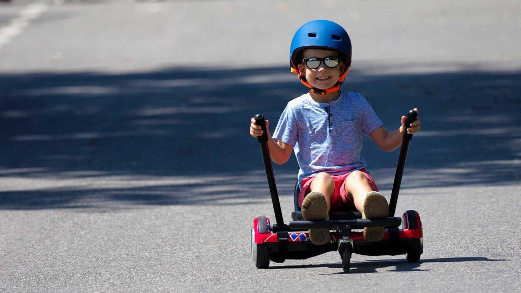 Elektrobile Hoverboard Sitz für mehr Fun